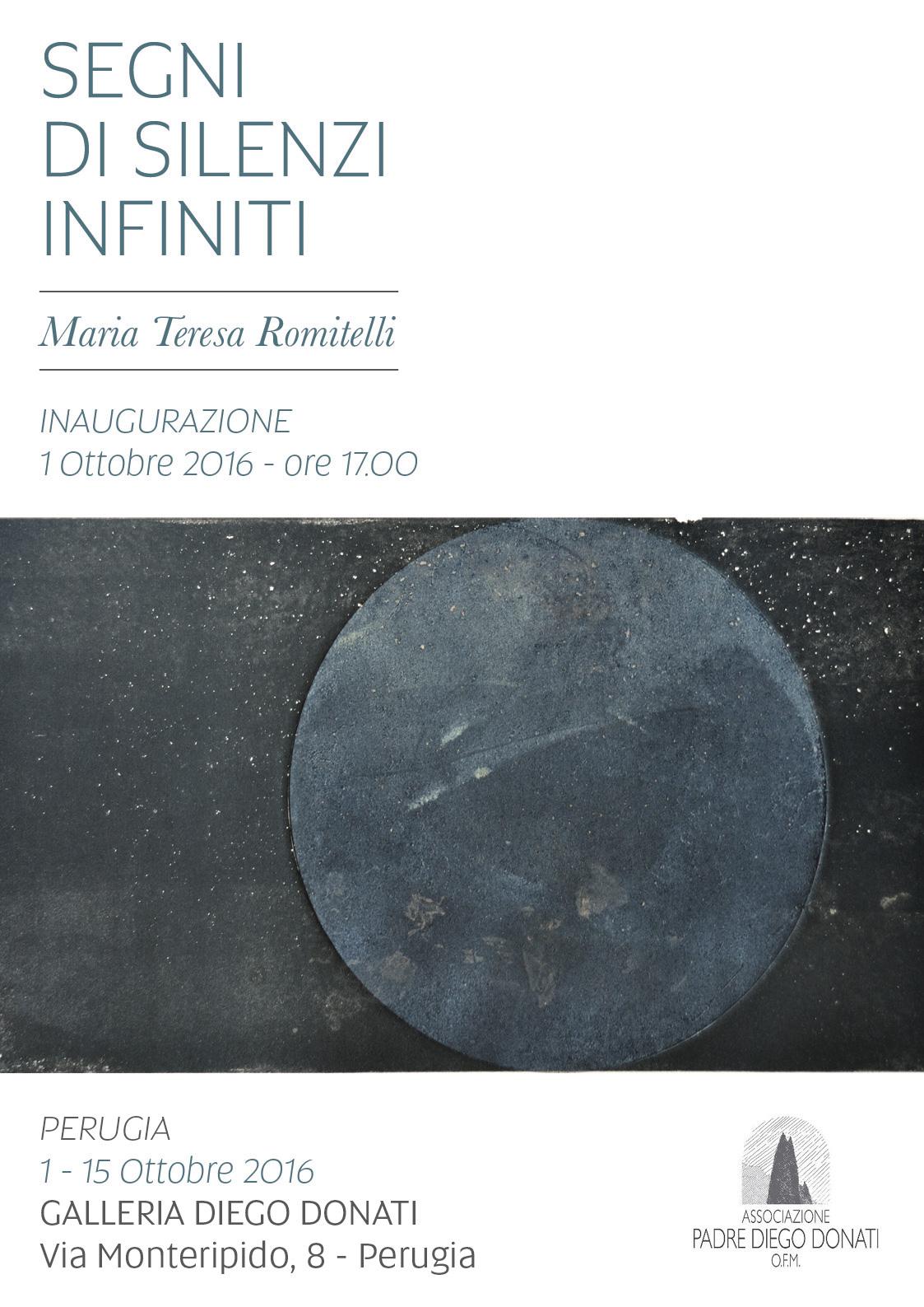 fbac20ea7d9 Maria Teresa Romitelli – Segni di silenzi infiniti